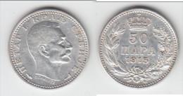 **** SERBIE - SERBIA - 50 PARA 1915 PETER I - ARGENT - SILVER **** EN ACHAT IMMEDIAT - Serbie