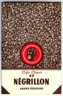 Magnifique Calendrier. 1969. Cafés Chapuis. Au Négrillon. Saint Etienne. Loire. 42 - - Calendriers