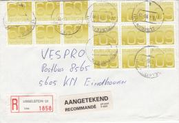 Envelop Aangetekend 13 Jan 1993 IJsselstein (ut) (typerader CB) - Postal History