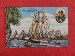 - Florida> Tampa  Pirate-- Gasparilla  Carnival entering Harbor  ref 1606