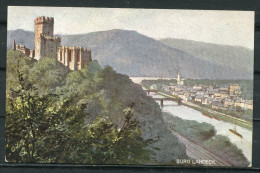 "CPA Signierte Color Raphael Tuck & Sons Künstlerkarte Germany Rheinburgen Nr.679 B""Burg Lahmeck ""1 AK Blanco - Tuck, Raphael"