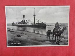 Suez Canal  Ref 1606 - Postcards