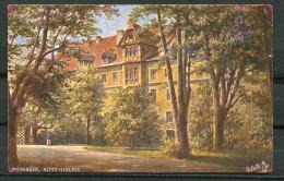 "CPA Signierte Color Raphael Tuck & Sons Künstlerkarte German Empires Deutsche Städte""Meiningen-Altes-Schlos ""1 AK Blanco - Tuck, Raphael"