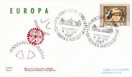 Busta Commemorativa Con Annullo Speciale Europeo - Europa-CEPT