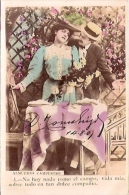 PAREJA COUPLE PAAR MA MOITIÉ LOVERS BOYFRIENDS NOVIOS GROOMS ENGAGEMENT Nº1 EDI. PAS ÉMIS CIRCULEE 1907 GECKO. - Koppels