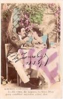 PAREJA COUPLE PAAR MA MOITIÉ LOVERS BOYFRIENDS NOVIOS GROOMS ENGAGEMENT Nº2 EDI. PAS ÉMIS CIRCULEE 1907 GECKO. - Koppels