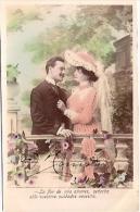 PAREJA COUPLE PAAR MA MOITIÉ LOVERS BOYFRIENDS NOVIOS GROOMS ENGAGEMENT Nº1 PAS ÉMIS CIRCULEE 1905 GECKO. - Koppels