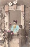 "PAREJA COUPLE PAAR MA MOITIÉ LOVERS BOYFRIENDS NOVIOS GROOMS ENGAGEMENT Nº7318/5 ED.""LA EXPOSICIÓN"" CIRCULEE 1908 GECKO. - Koppels"