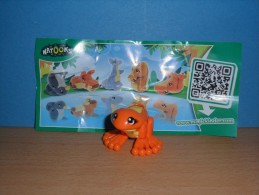 KINDER NATOONS ANIMAUX DOUBLE FACE FF015 + BPZ - Montabili