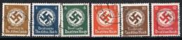 Sellos Service Oficial ALEMANIA Reich, Num 166-177 º - Dienstpost