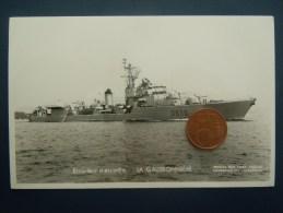 Bateaux Marine Militaire , Navire De Guerre , Marius Bar Phot.  Escorteur D ´ Escadre LA GALISSONNIERE - Guerre