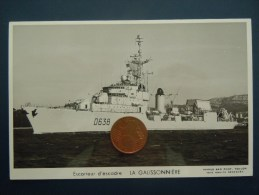Bateaux Marine Militaire , Navire De Guerre , Marius Bar Phot.  Escorteur D ´ Escadre  LA GALISSONNIERE - Warships