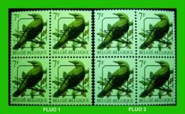 BUZIN - PRE 830** Loriot / Wielewaal - FLUOR - 2 Types Différents !!! - 1985-.. Oiseaux (Buzin)