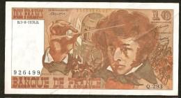 10F BERLIOZ - 5.8.1976 - Q.293 - 1962-1997 ''Francs''
