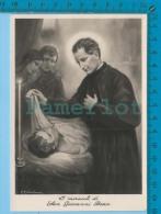 San Giovanni Bosco, I Miracoli Di, C. Colantuoni  -  Vera Photografia Real Photo Postcard Carte Postale 2 Scans - Saints