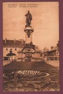 carte postale Warszawa . Pomnik Mickiewicza Warschau Mickiewicz Denkmal