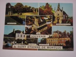 MA82 - SAINT ETIENNE DE MONTLUC   1 DS SUR CARTE - Saint Etienne De Montluc