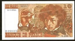 10F BERLIOZ - 1.7.1976 - V.291 - 1962-1997 ''Francs''