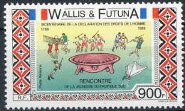 Wallis Et Futuna 1989 Yvertn° LP PA  166*** MNH  Cote 23,00 Euro - Wallis-Et-Futuna