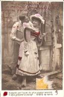 PAREJA COUPLE PAAR MA MOITIÉ LOVERS BOYFRIENDS NOVIOS GROOMS ENGAGEMENT Nº4578 EDIT.? VOYAGÉE CIRCA 1910 GECKO. - Koppels