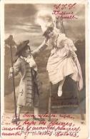 PAREJA COUPLE PAAR MA MOITIÉ LOVERS BOYFRIENDS NOVIOS GROOMS ENGAGEMENT NºIV EDIT.? VOYAGÉE 1906 GECKO. - Koppels