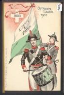 CENTENAIRE DE L´INDEPENDANCE VAUDOISE 1803-1903  - TB - VD Vaud
