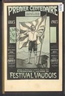 CENTENAIRE DE L´INDEPENDANCE VAUDOISE 1803-1903 - CARTE No 5 - TB - VD Vaud