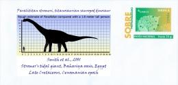 SPAIN, 2017 Paralititan Stromeri, Titanosaurian Sauropod Dinosaur, Dino Dinosaurs Reptilia Prehistoric Wildlife - Stamps