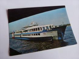 HOLLAND RIVER LINE HOLLAND PEARL @ VUE RECTO/VERSO AVEC BORDS - Unclassified