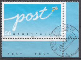 Bund 2002  Mi.nr.:2250  Gestempelt / Oblitérés / Used - Oblitérés