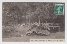 60 - BELLE ÉGLISE - LE CHÂTEAU DE SAINT JUST - L'ÎLE - BORNEL - 2 Scans - - Autres Communes