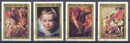 Cote D´Ivoire YT N°444/447 Tableaux De Pierre Paul Rubens Oblitéré ° - Côte D'Ivoire (1960-...)