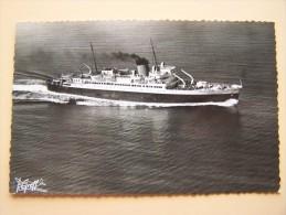 VILLE-d'ORAN COMPAGNIE-GENERALE-TRANSATLANTIQUE Marine De Commerce Bateau Français Marine Marchande - Paquebots