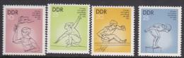 German Democratic Republic 1975 5th Children And Youth Spartakiad MNH - [6] Democratic Republic