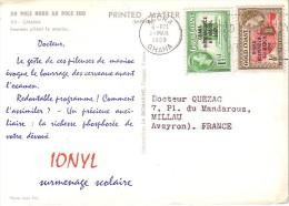 GHANA - CROISIERE 1959 -  DU POLE NORD AU POLE SUD - IONYL - PLASMARINE - GHANA. - Ghana (1957-...)