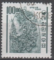N° 306 O Y&T 1963 Cloche Du Roi Kyongdok - Corée Du Sud