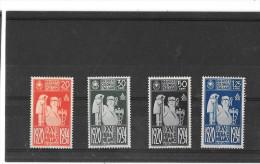 FIERA DI MILANO 1934 COLONIE EMISSIONI GENERALI NR.QUATTRO FRANCOBOLLI NUOVI - Italia