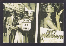 The Nostalgia Postcard Collector`s Club, Ain`t Misbehavin, London 1955, N3. - History