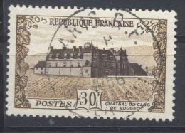 Frankreich, ° (gest., Obl., Used), 1951, 400 Jahre Schloß Clos De Vougeot, YT:  913 / Mi: 932 - Usados