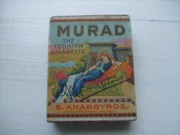 Paquet De Cigarettes MURAD- Paquet Ancien- - Etuis à Cigarettes Vides