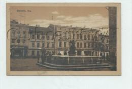 Gliwice ou  Gleiwitz (Pologne) : Ring  en 1921 (lebendich) PF.
