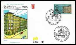 31666) Berlin - Michel 508 - FDC - Denkmalschutzjahr - [5] Berlín
