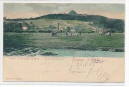 Krakau    (da2820 ) �ber 100 Jahre alte Karte