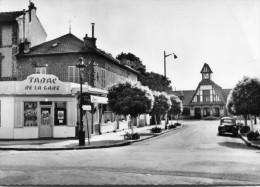SAINT LEU LA FORET(VAL D OISE) GARE_TABAC(AUTOMOBILE) - Saint Leu La Foret