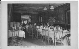 CHATELAILLON : Salle à Manger De L'Hôtel Beauséjour - Belle CPA Non Utilisée - Châtelaillon-Plage