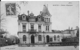 SAINTES : Caisse D'Epargne - Belle CPA Postée En 1925 - Saintes