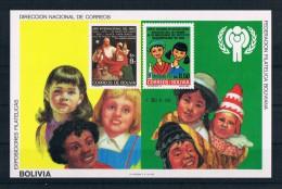 Bolivien 1980 Kinder Block 97 ** - Bolivia