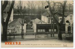 Saint Maurice Restaurant TAUSS - 128 Grande Rue - Vue Prise Du Bois De Vincennes - Saint Maurice