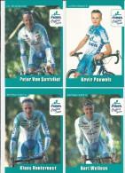 Veldrijden Pakk.  Van 11 Fotokaarten Van Fidea Met Wellens, Vervecken, Meeusen , Stybar Enz.. - Wielrennen
