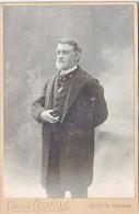 24135 Photo Homme 16x10 Cm-photographe Edmond Cauville Bd Saumur Angers France